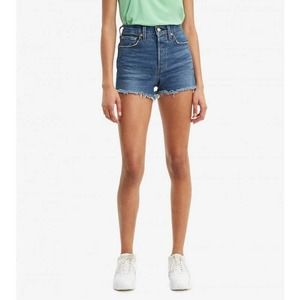 Levi's Original 501 Cut-Off Shorts In Blue 32 NWT